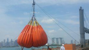 Singapore Crane Load Test