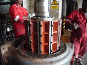 Brattvaag Hydraulic Motor Installation