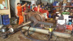 Brattvaag Hydraulic Motor Service Testing